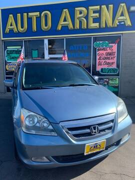 2005 Honda Odyssey for sale at Auto Arena in Fairfield OH