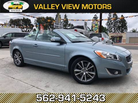 2013 Volvo C70 for sale at Valley View Motors in Whittier CA
