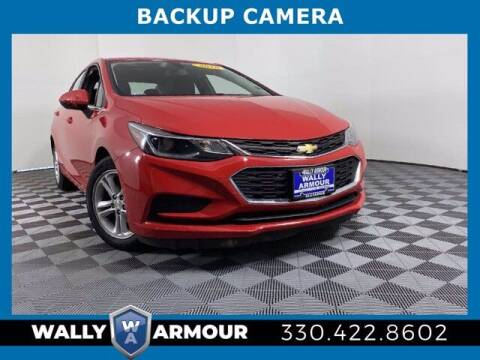 2016 Chevrolet Cruze for sale at Wally Armour Chrysler Dodge Jeep Ram in Alliance OH