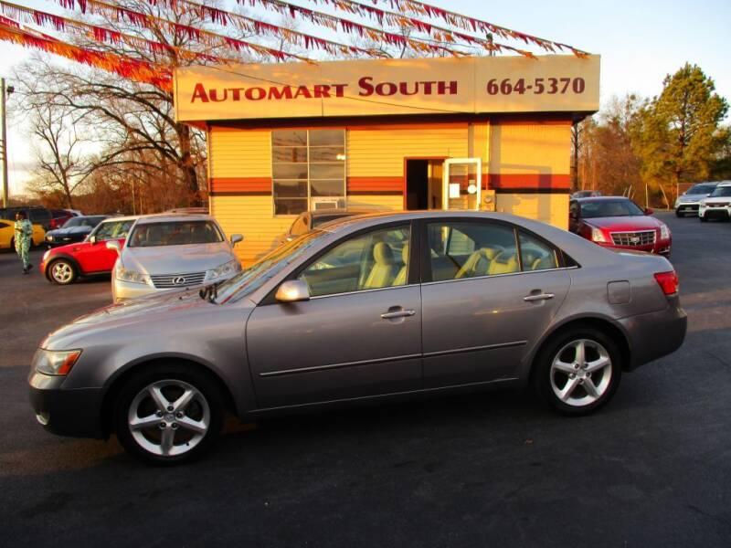 2006 Hyundai Sonata for sale at Automart South in Alabaster AL