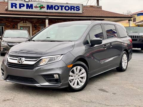 2020 Honda Odyssey for sale at RPM Motors in Nashville TN