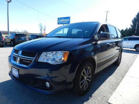 2017 Dodge Grand Caravan for sale at Leitheiser Car Company in West Bend WI