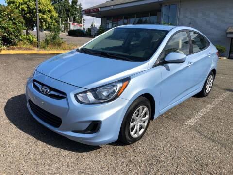 2014 Hyundai Accent for sale at KARMA AUTO SALES in Federal Way WA