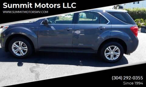 2014 Chevrolet Equinox for sale at Summit Motors LLC in Morgantown WV