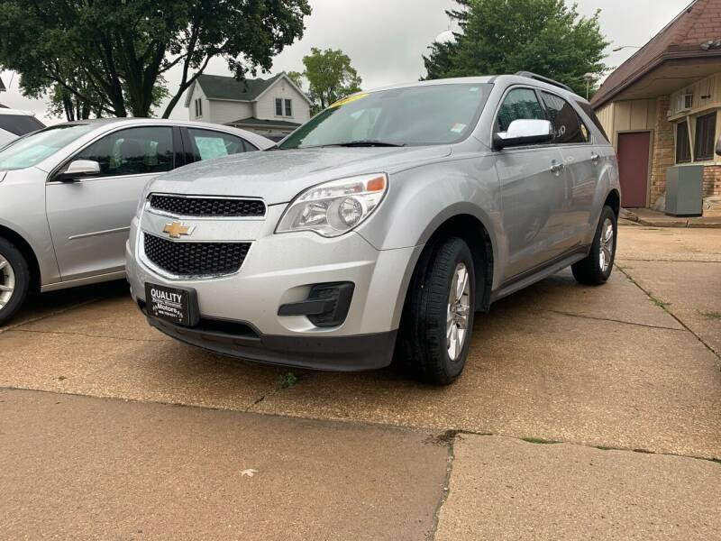 2011 Chevrolet Equinox for sale at QUALITY MOTORS in Benton WI