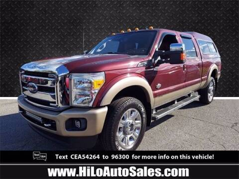 2012 Ford F-250 Super Duty for sale at Hi-Lo Auto Sales in Frederick MD