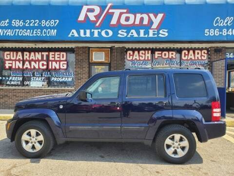 2012 Jeep Liberty for sale at R Tony Auto Sales in Clinton Township MI