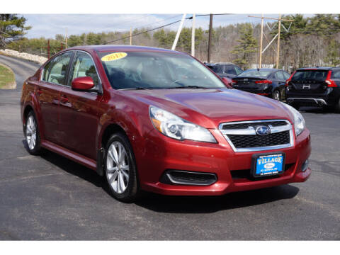 2013 Subaru Legacy for sale at VILLAGE MOTORS in South Berwick ME