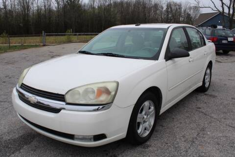 2004 Chevrolet Malibu for sale at UpCountry Motors in Taylors SC