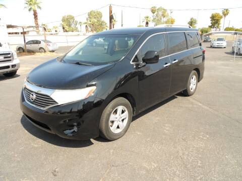 2014 Nissan Quest for sale at COUNTRY CLUB CARS in Mesa AZ