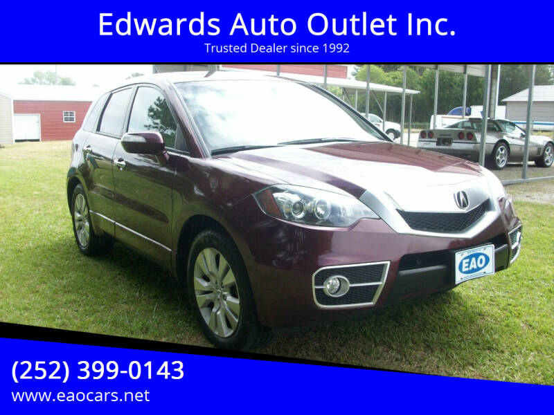 2012 Acura RDX for sale at Edwards Auto Outlet Inc. in Wilson NC