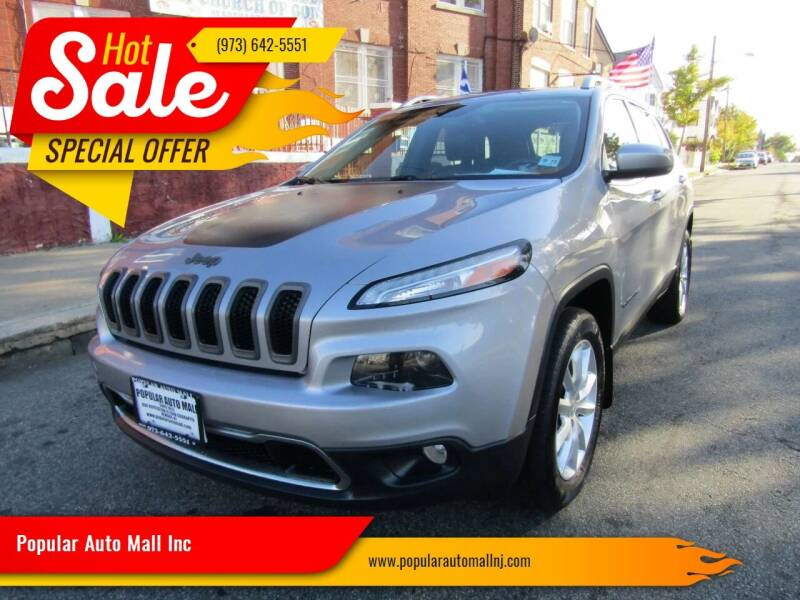 2014 Jeep Cherokee for sale at Popular Auto Mall Inc in Newark NJ
