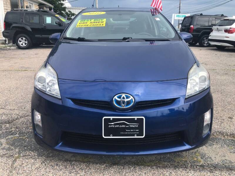 2010 Toyota Prius for sale at Cape Cod Cars & Trucks in Hyannis MA