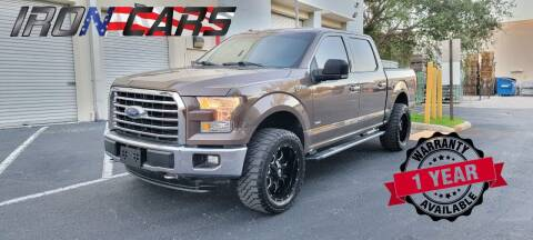 2015 Ford F-150 for sale at IRON CARS in Hollywood FL