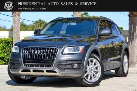 2017 Audi Q5 for sale at Presidential Auto  Sales & Service in Delray Beach FL