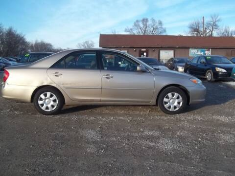 2002 Toyota Camry for sale at BRETT SPAULDING SALES in Onawa IA