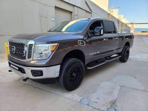 2017 Nissan Titan XD for sale at NEW UNION FLEET SERVICES LLC in Goodyear AZ