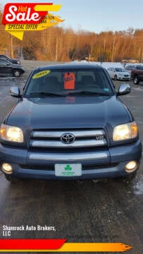 2005 Toyota Tundra for sale at Shamrock Auto Brokers, LLC in Belmont NH