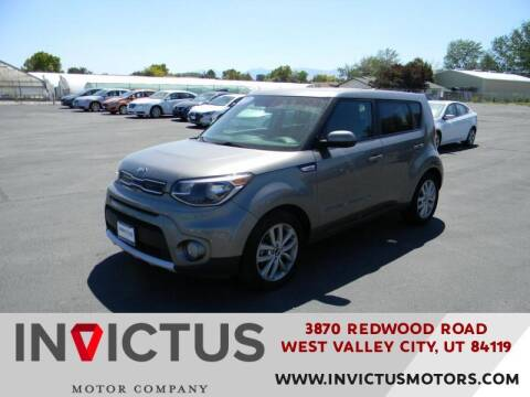 2018 Kia Soul for sale at INVICTUS MOTOR COMPANY in West Valley City UT