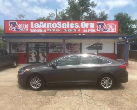 2016 Hyundai Sonata for sale at LA Auto Sales in Monroe LA