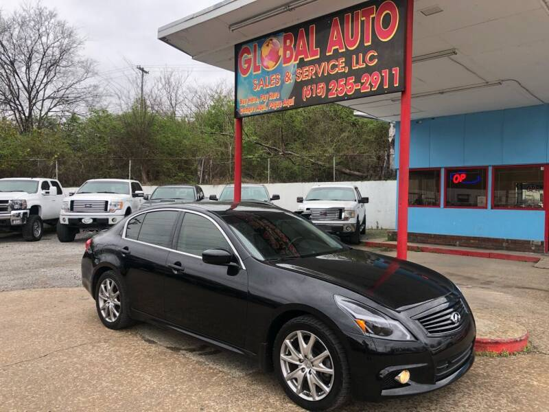2012 Infiniti G37 Sedan for sale at Global Auto Sales and Service in Nashville TN