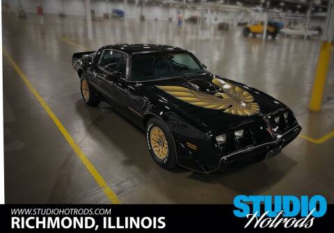 1979 Pontiac Trans Am for sale at Studio Hotrods in Richmond IL