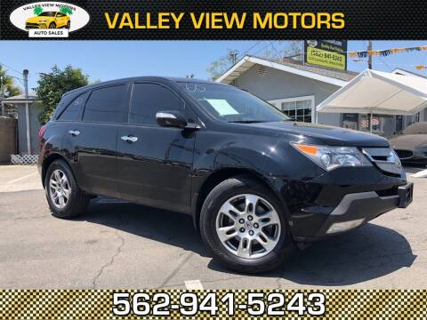 2007 Acura MDX for sale at Valley View Motors in Whittier CA