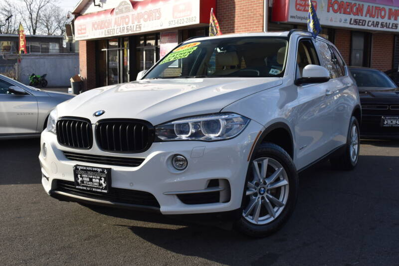 2015 BMW X5 for sale at Foreign Auto Imports in Irvington NJ