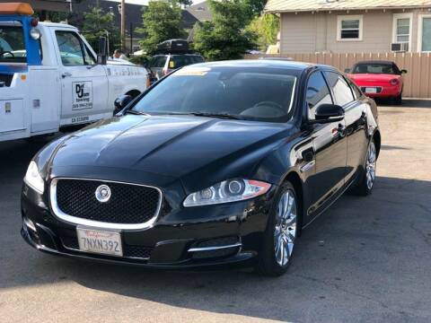 2011 Jaguar XJL for sale at Victory Auto Sales in Stockton CA