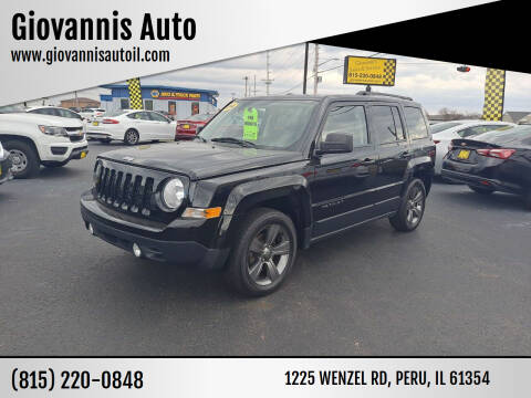 2014 Jeep Patriot for sale at Giovannis Auto in Peru IL