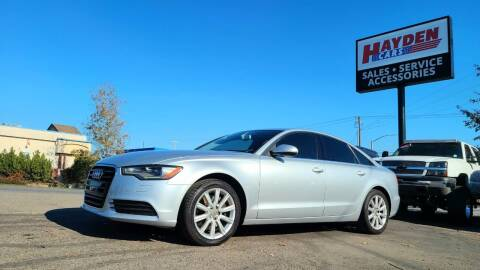 2014 Audi A6 for sale at Hayden Cars in Coeur D Alene ID