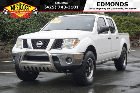 2007 Nissan Frontier for sale at West Coast Auto Works in Edmonds WA