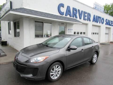 2013 Mazda MAZDA3 for sale at Carver Auto Sales in Saint Paul MN