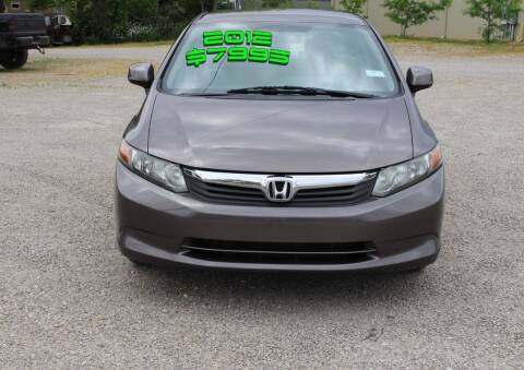 2012 Honda Civic for sale at Bowman Auto Sales in Hebron OH