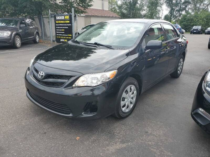 2011 Toyota Corolla for sale at MIDWEST CAR SEARCH in Fridley MN