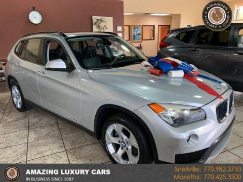2013 BMW X1 for sale at Amazing Luxury Cars in Snellville GA
