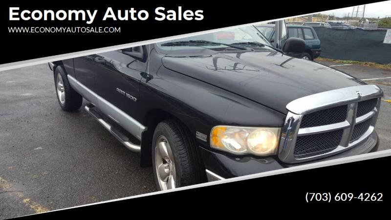 2003 Dodge Ram Pickup 1500 for sale at Economy Auto Sales in Dumfries VA