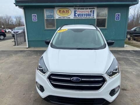2019 Ford Escape for sale at E & H Auto Sales in South Haven MI