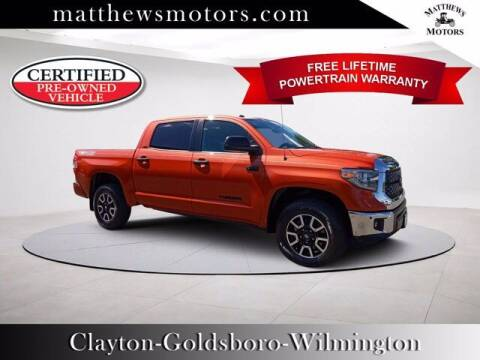 2018 Toyota Tundra for sale at Auto Finance of Raleigh in Raleigh NC