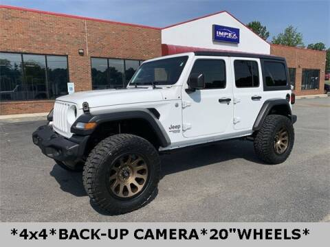 2019 Jeep Wrangler Unlimited for sale at Impex Auto Sales in Greensboro NC