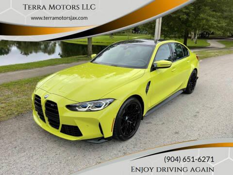 2021 BMW M3 for sale at Terra Motors LLC in Jacksonville FL