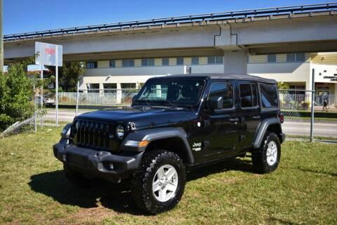 2018 Jeep Wrangler Unlimited for sale at STS Automotive - Miami, FL in Miami FL