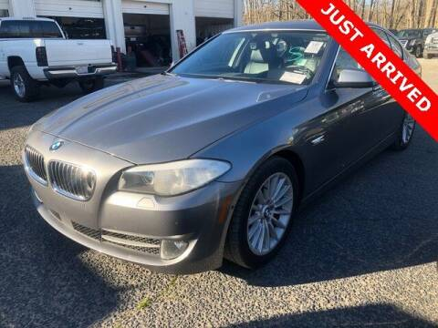 2013 BMW 5 Series for sale at Brandon Reeves Auto World in Monroe NC