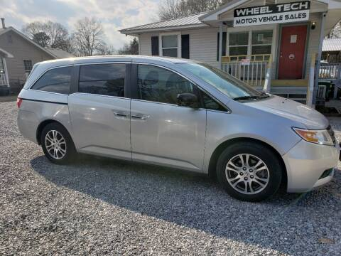 2013 Honda Odyssey for sale at Wheel Tech Motor Vehicle Sales in Maylene AL