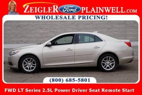 2015 Chevrolet Malibu for sale at Zeigler Ford of Plainwell- michael davis in Plainwell MI