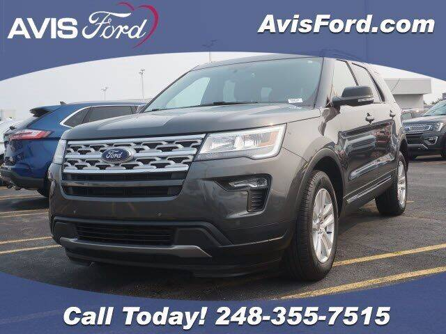 2018 Ford Explorer for sale at Work With Me Dave in Southfield MI
