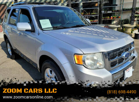 2011 Ford Escape for sale at ZOOM CARS LLC in Sylmar CA