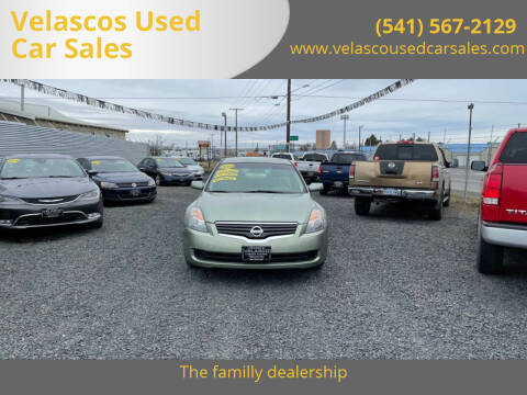 2008 Nissan Altima for sale at Velascos Used Car Sales in Hermiston OR