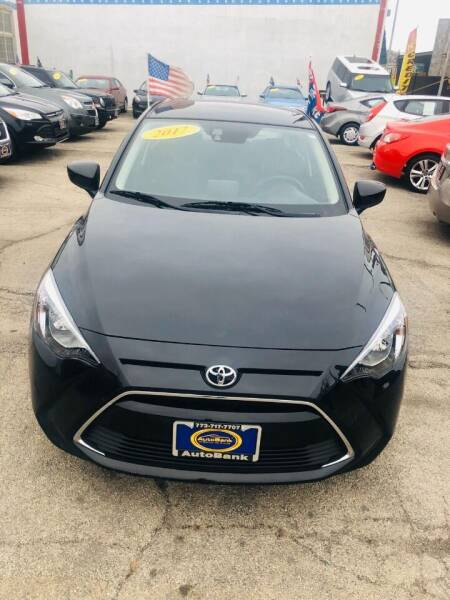 2017 Toyota Yaris iA for sale at AutoBank in Chicago IL