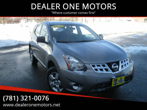 2014 Nissan Rogue Select for sale at DEALER ONE MOTORS in Malden MA